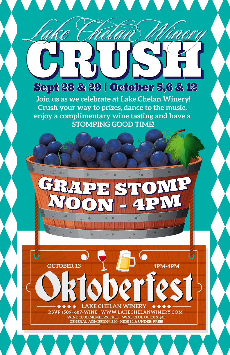 Lake Chelan Crush - Grape Stomp