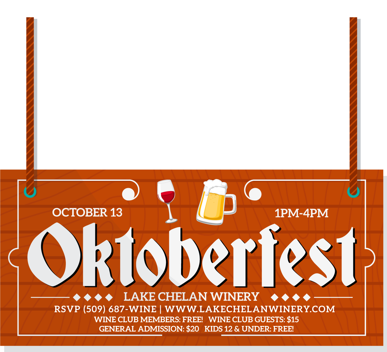 Oktoberfest Wine Club party @ Lake Chelan Winery